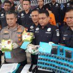 Dua Tersangka Pengedar Narkotika di Tangkap Satresnarkoba Polres Tangsel