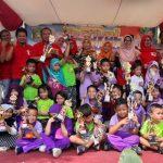 Gali Potensi Usia Dini, Kelurahan Pedurenan Gelar Kampung Anak
