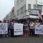 Tuntut Hak, Pemilik Ruko Dekat Eks Borobudur Lakukan Unras