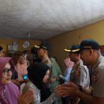 Senat Serdik Sespimma Polri Angkatan 62 Sambangi Keluarga Ipda Erwin