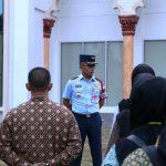 Sambut Kedatangan Ri 2, Danlanud Sim Pimpin Apel Pengamanan Bandara Sim