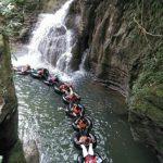 Di Citumang Pengunjung Dapat Melakukan Aktivitas Berenang dan Body Rafting