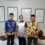 Aldi Taher Dan Reza Zulkifli Cagub Cawagub Sumbar, Sambagi kediaman Prof. Dr. Ir. Rokhmin Dahuri, MS