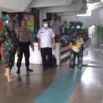Cegah Virus Corona Penyemprotan Disinfektan Di Masjid Jami AL Huda oleh Petugas Gabungan Unit Pemerintahan dari Unsur Tiga Pilar Kecamatan Batu Ceper