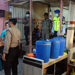 POM AU Lanud SIM Bersama Satpol PP Dan Polri Dengan Pemerintah Aceh Besar, Sosialisasikan Pencegahan Penyebaran Virus Corona (Covid-19) Di Aceh Besar