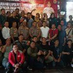 Kapolres Tangsel Jalin Silahturahmi dengan Wartawan