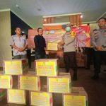 Polres Tangerang Selatan melaksanakan giat kepedulian Kepada Para Pewarta Pokja Harian Tangsel
