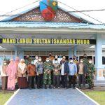 Danlanud SIM Terima Kunjungan Kerja Dari Komisi 1 DPR Aceh