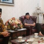Bacalon Cagub Cawagub Sumbar Aldi Dan Reza Sambagi Kediaman Ketua Icmi Prof. Dr. Jimly Asshiddiqie, S.H