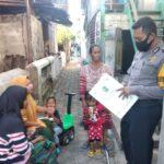 Sambangi Warga Binaan, Bhabinkamtibmas Polsek Pulau Sembilan Polres Sinjai sampaikan Imbau