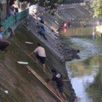 Dipimpin Serma Ujang, Sektor 22 Citarum Harum Sub 14, Bersihkan Sungai Cikapundung