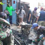 Sektor 22 Citarum Harum Sub 11, Bersama Warga Masyarakat Karya Bhakti Bersihkan Saluran Air