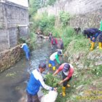 Gandeng Kewilayahan, Sektor 22 Citarum Harum Sub 11, Bersihkan Sungai Cihampelas