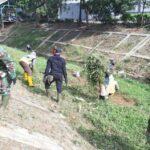Sektor 22 Citarum Harum Sub 11, Karya Bakti Pembersihan Rumput Liar Di Sungai Cipanjalu