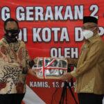 Launching Gerakan 2 Juta Masker di Kota Depok, Begini Kata Mendagri