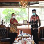 Sosialisasi Penanganan Covid-19 di Aceh, Plt Gubernur Datangi Mendagri