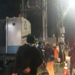 Bersama Petuga PLN, Polsek Arcamanik Polrestabes Bandung, Pengamanan Perbaikan Travo Yang Terbakar