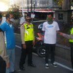 Polsek Bandung Wetan Polrestabes Bandung, Himbau Warga Pakai Masker
