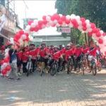 Tingkatkan Imun di Tengah Pandemi, Gerindra Kota Tangerang Gelar Cisadane Fun Bike