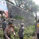 Jelang Tahapan Kampanye, Polisi di Sukabumi Gelar Pengamanan Penertiban APK Pilkada Oleh Bawaslu