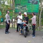 Tak Pernah Bosan, Jajaran Personel Polres Subang Polda Jabar Berikan Himbauan 3M Kepada Masyarakat