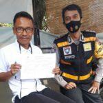 Polsek Buah Batu Polrestabes Bandung, Giat Pembagian Mαѕker dan Himbauan 3M
