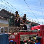 Polsek Andir Polrestabes Bandung Bersama Gugus Tugas Covid-19, Penyemprotan Disinfektan
