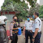 Polsek Regol Polrestabes Bandung, Sosialisasi 3 M Kepada Karyawan