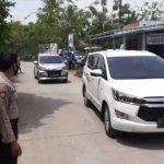 Pegamanan Paslon Bupati Dan Wakil Bupati Karawang No. 2 DiWilayah Tirtajaya