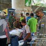 Polsek Cilandak Bersama Unsur Muspika Gelar Operasi Yustisi Covid-19 di Jl. Andara Pondok Labu