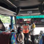 Kapolres Banjar Datangi Terminal Bus Banjar Sampaikan Imbauan Protokol Kesehatan ke Penumpang dan Sopir Bis