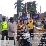 Gelar Operasi Yustisi, Kepolisian Polsek Legok Himbau Masyarakat Patuhi Prokes