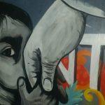 Dimasa Pandemi, Seniman Mural Berikan Pesan Moral Melalui Lukisan