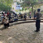 Brimob Polda Jabar Sosialiasikan Prokes Kepada Mahasiswa/i Di Gor Bima Cirebon