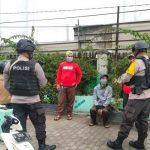 Ingatkan Warga Akan 3M, Patroli Brimob Jabar Lakukan Sambang Dialogis