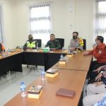 Kapolres Ciamis Bersama Dandim 0613 Ciamis Dan Sekda Kabupaten Ciamis Dampingi Tim Wasev Laksanakan Pengecekan PPKM
