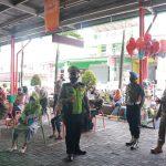 Personel Gabungan Polres Ciamis Bersama Kodim 0613 Lakukan Sosialisasi Penerapan PPKM