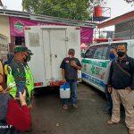 Satuan Sabhara Intelkam dan Lantan Polres Ciamis Lakukan Pengaman Pendistribusian Vaksin Sinovac Untuk UPTD Puskesmas Cisaga