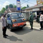 Cegah Penyebaran Covid -19 Petugas Gabungan TNI POLRI Bersama Pemerintah Pangandaran Laksanakan Ops Yustisi