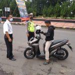 Sebanyak 19 Pelanggar Prokes Terjaring dalam Operasi Yustisi di Perbatasan Banjar – Ciamis