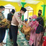 Kasat Lantas Polres Ciko, Rutin berikan bantuan berupa Al- Qur'an dan buku – buku agama.