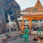 Usai Kebakaran Hebat, Puluhan Pedagang Pasar Kambing Tanah Abang Masih Terlantar