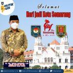 Jelang Ulang Tahun Ke 474, Begini Ucapan Dirjen Polpum Kemendagri Untuk Kota Semarang