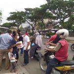 Komunitas Bersama Berbagi (KBB), Berbagi Takjil Dan Nasi Kotak Gratis Bersama Jajaran Polsek Benda
