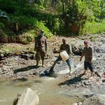 Sektor 22 Citarum Harum Tebar Bios 44 Di Sungai Cikapundung