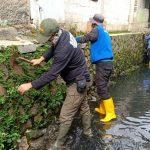 Sektor 22 Citarum Harum Sub 14, Karya Bhakti Pembersihan Sungai Ciateul