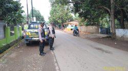 Anggota Polsek Lelea Tingkatkan Giat Patroli Strong Point Wiralodra Pasca Pilwu
