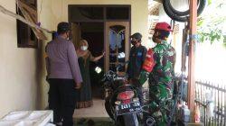 Tingkatkan Posko PPKM Mikro Anggota Polsek Arahan Di Desa Linggajati