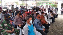 Kapolsek Tukdana Giat Pengamanan Kunjungan Kerja Komisi IV DPR RI