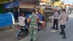 Anggota Polsek Terisi Giat Ops Yustisi Pendisiplinan Prokes Di Jalan Umum